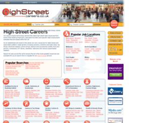 highstreetcareers.co.uk screenshot
