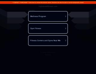highstreetfitness.com screenshot
