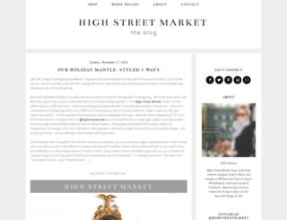 highstreetmarket.blogspot.com screenshot