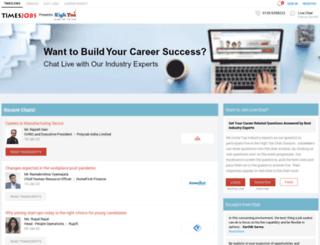 hightea.timesjobs.com screenshot