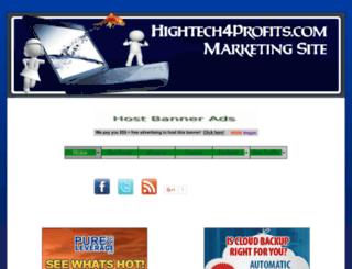 hightech4profits.com screenshot