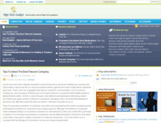 hightechgadjet.com screenshot