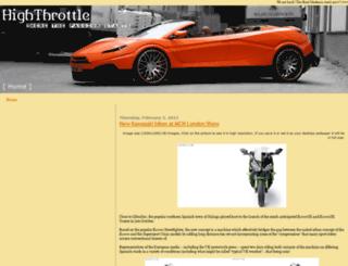 highthrottle.blogspot.fr screenshot