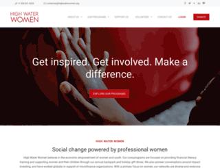 highwaterwomen.org screenshot