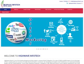 highwaveinfotech.com screenshot