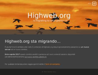 highweb.org screenshot