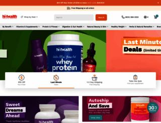 hihealth.com screenshot