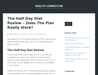 hihealthconnector.com screenshot