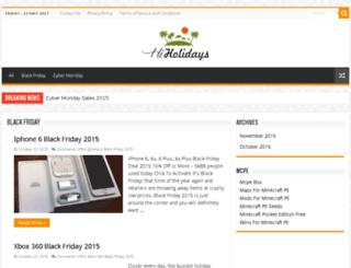 hiholidays.net screenshot