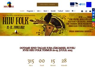hiiufolk.ee screenshot