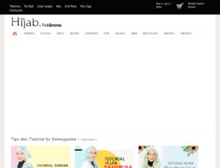 hijab.pinkemma.com screenshot