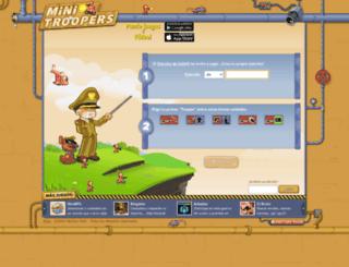 hijhkfj.minitroopers.es screenshot