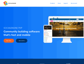 hikerala.socialengine.com screenshot