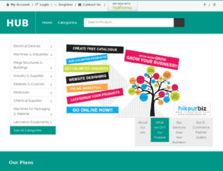 hikeurbiz.com screenshot