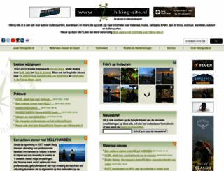 hiking-site.nl screenshot