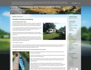 hikingblog.co.uk screenshot