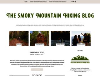 hikinginthesmokys.blogspot.com screenshot