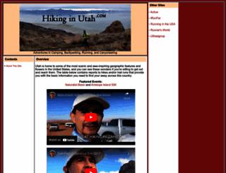 hikinginutah.com screenshot