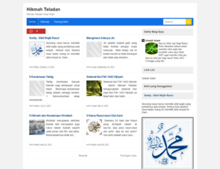 hikmahteladan.blogspot.com screenshot