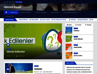 hikmetkapisi.org screenshot
