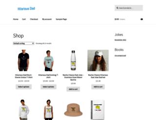 hilariousdad.com screenshot