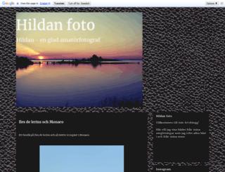 hildanfoto.blogspot.se screenshot