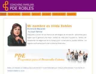 hildarobles.com screenshot