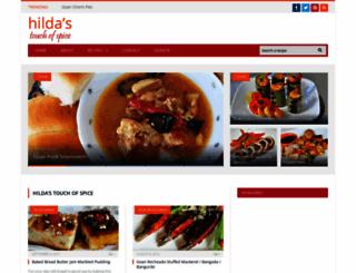hildastouchofspice.com screenshot