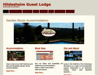 hildesheim.co.za screenshot