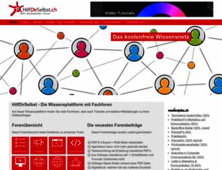 hilfdirselbst.ch screenshot
