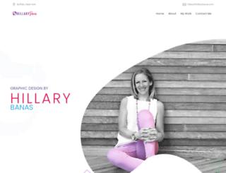 hillarybanas.com screenshot