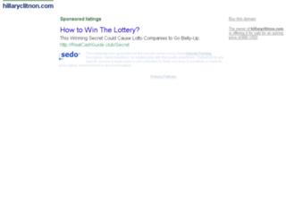 hillaryclitnon.com screenshot