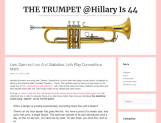 hillaryis44.org screenshot