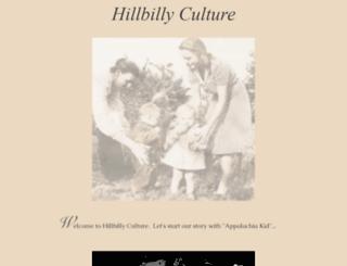 hillbillyculture.com screenshot