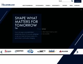 hillenbrandinc.com screenshot