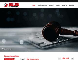 hillerauction.com screenshot