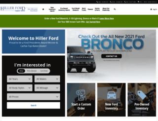 hillerford.com screenshot