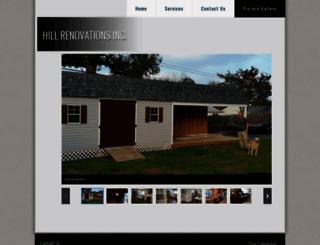 hillrenovations.com screenshot