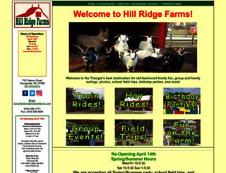 hillridgefarms.com screenshot