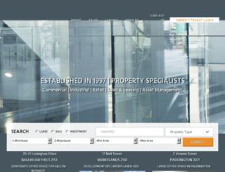 hillscommercial.com.au screenshot