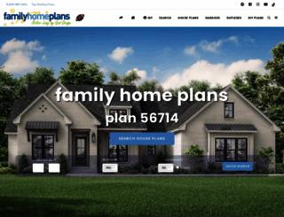 hillside.coolhouseplans.com screenshot