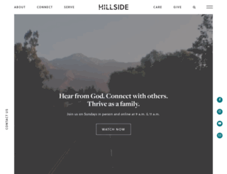 hillsiderancho.com screenshot