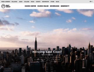 hillsongnyc.com screenshot