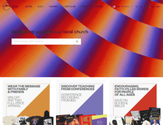 hillsongstore.com screenshot
