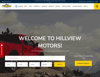 hillviewmotors.com screenshot