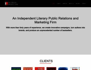 hilsingermendelson.com screenshot