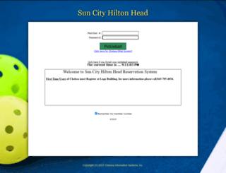 hiltheadpb.chelseareservations.com screenshot