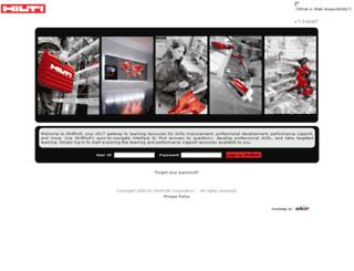 hilti.skillport.com screenshot
