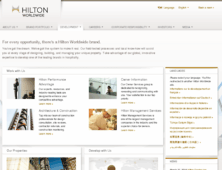 hiltondevelopment.com screenshot