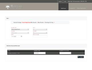 hiltonheadgolf.totalegolf.com screenshot